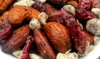 BBQ Grilled Homemade Trail Mix