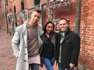Luka & Jenalyn with Ramsey Kouri