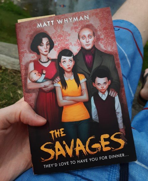 The book The Savages by Matt Whyman