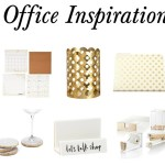 Gold Office Inspiration