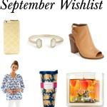 September Wishlist