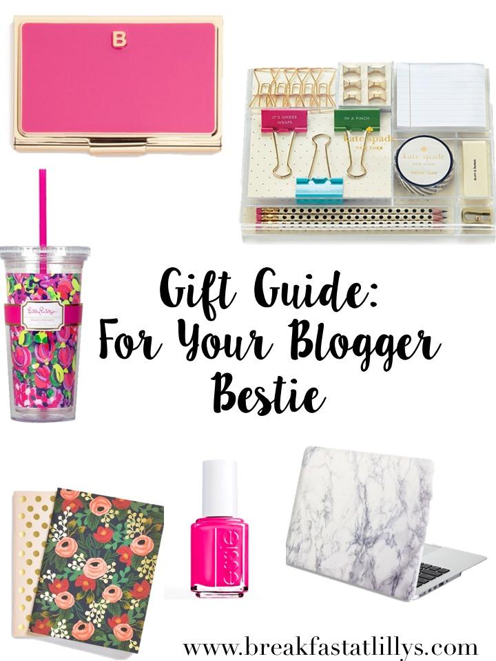 blogger bestie gift guide