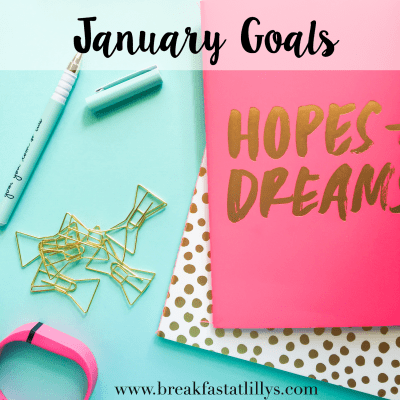 January Goals + Road to a Better Me Linkup