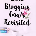 2016 blogging goals revisited