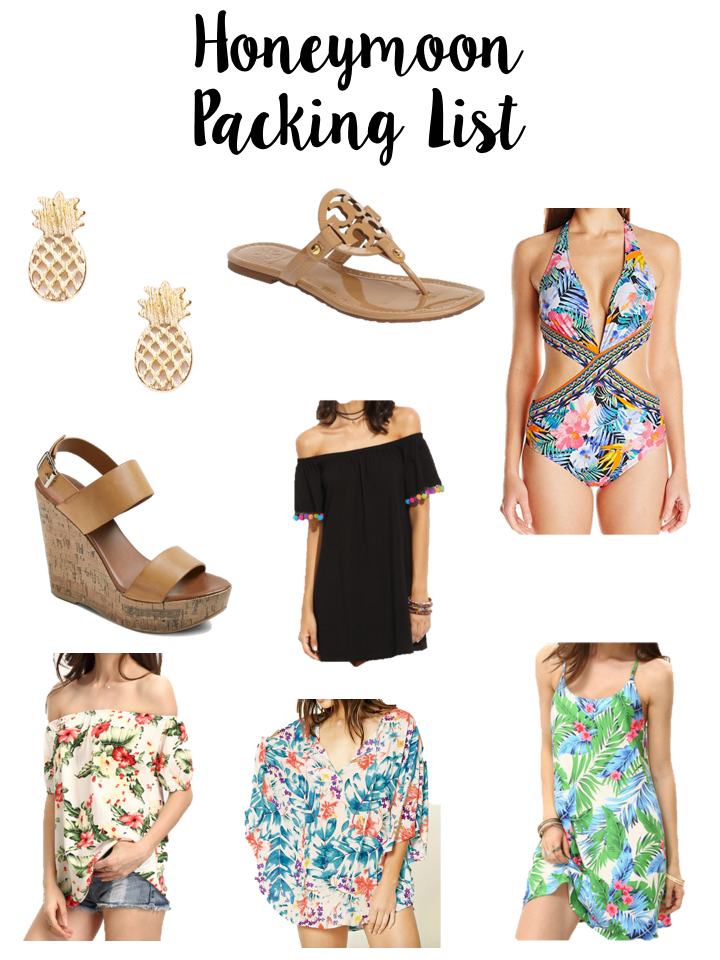 Honeymoon Packing List