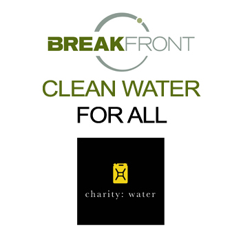 BreakFront Announces Goals to Support Clean Water