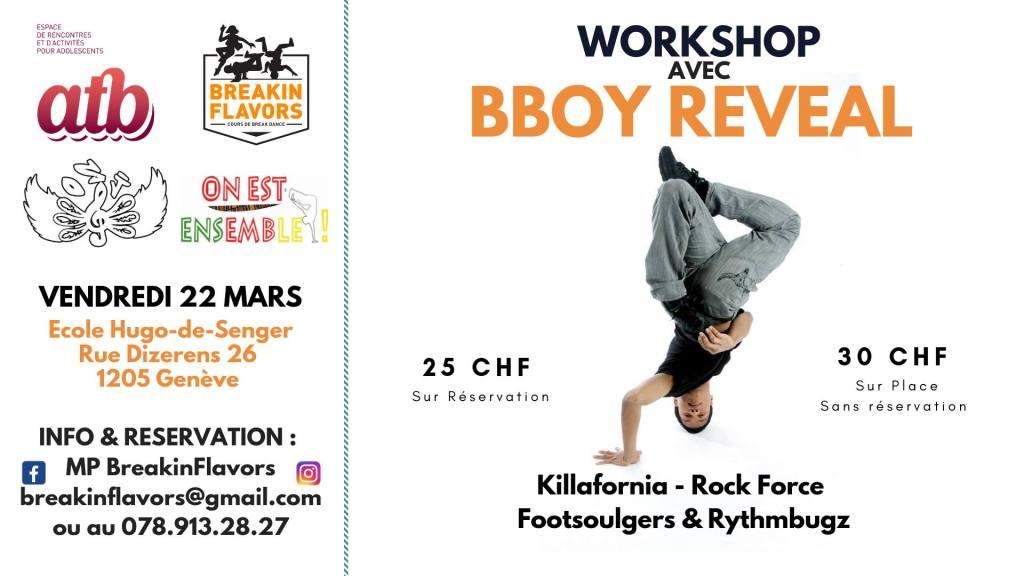 Workshop Bboy Reveal