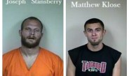 Two charged in Hamilton Township burglary