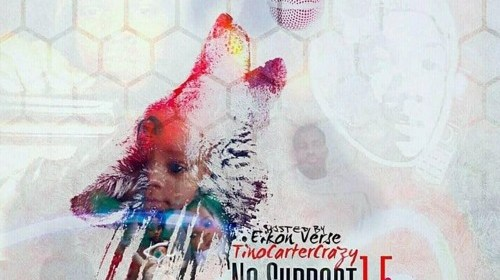 "Cover artwork for TinoCarterCrazy - ""No Support 1.5"""