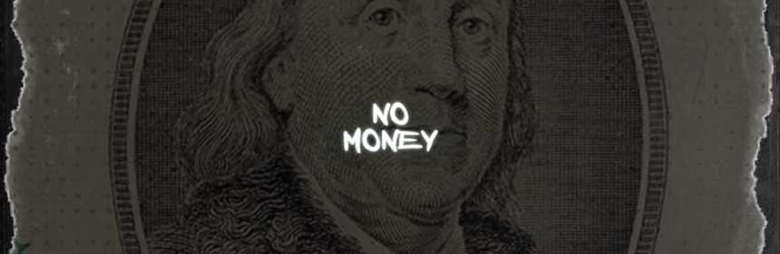 "Cover artwork for Larry Bull - ""No Money"""