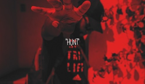 "Cover artwork for AWillThaGreat - ""Hunt"""