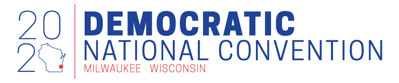 2020 DNC Logo Milwaukee