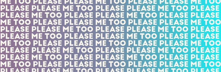 "Cover artwork for Fuzzysurf - ""Please Please Me Too"""