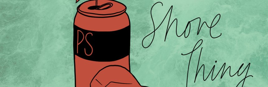"""Cover artwork for Pasta Sauce - """"Shore Thing"""""""
