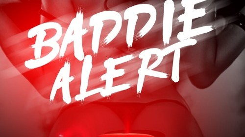 "Cover artwork for Kaylee Crossfire - ""Baddie Alert"""