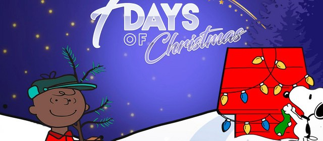 "Cover artwork for Tr3y - ""7 Days of Christmas"""