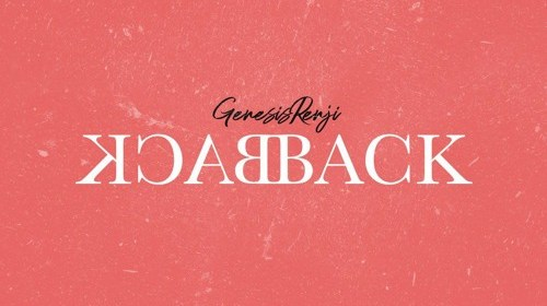 "Cover artwork for Genesis Renji - ""Back Back"""