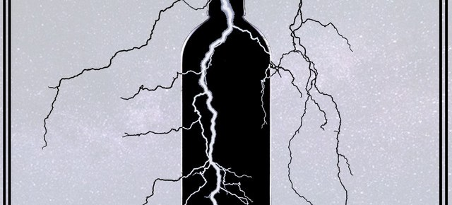 "Cover artwork for PaperStacks - ""Lightning In A Bottle"""
