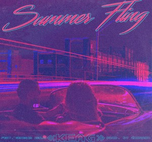 "Cover artwork for Keag Featuring Genesis Renji - ""Summer Fling"""