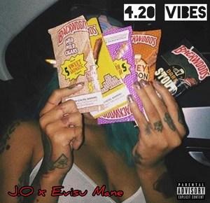 """Cover artwork for Evisu Mane & J.O.Eons - """"4.20 Vibes"""""""