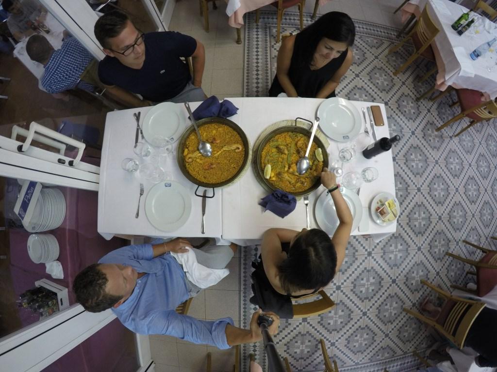 Spain Dinner Paella