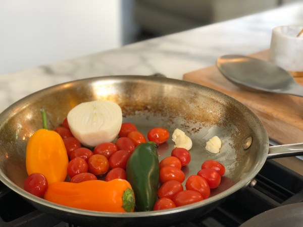 Veggies For Huevos Rancheros (Salsa)