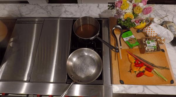 Quinoa and Lentil Breakfast Bowl Broth