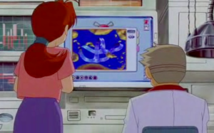 Pokemon The Movie 2000 Professor Oak and Delia Ketchum