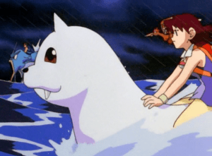 Pokemon The First Movie Neesha and Dewgong