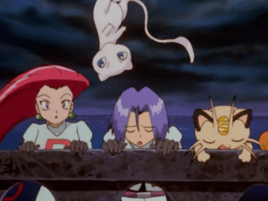 Pokemon The First Movie Team Rocket and Mew