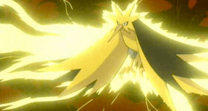 Pokemon The Movie 2000 Zapdos