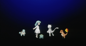 Pokemon The First Movie Mewtwo and Amber Two
