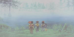 Pokemon 4Ever foggy lake