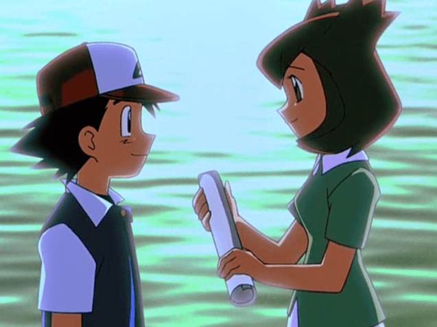 Pokemon Heroes Ash Ketchum and Latias Bianca