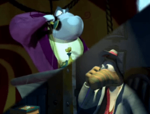 Rayman: The Animated Series Rigatoni calling Inspector Grub