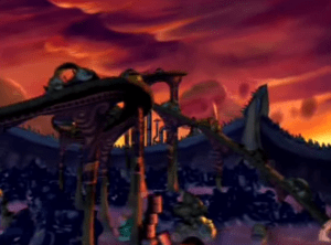 Rayman: The Animated Series Scrapyard