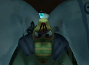 Rayman: The Animated Series Inspector Grub captured