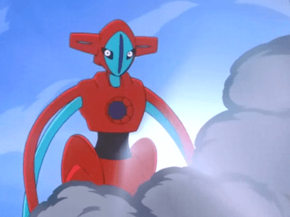 Pokemon Destiny Deoxys Deoxys