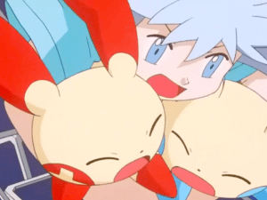 Pokemon Destiny Deoxys Tory saves Plusle and Minun