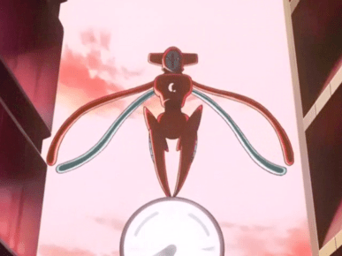 Pokemon Destiny Deoxys green gem Deoxys