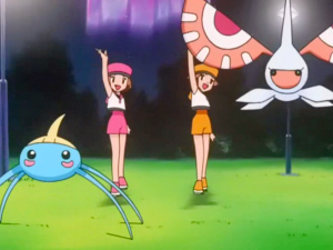 Pokemon Destiny Deoxys Audrey, Kathryn, Surskit and Masquerain