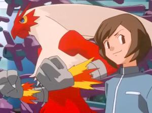 Pokemon Destiny Deoxys Rafe and Blaziken