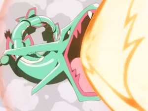Pokemon Destiny Deoxys Rayquaza Hyper Beam