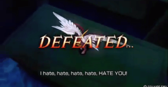 Dissidia Final Fantasy Kefka I Hate You