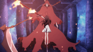 Sword Art Online Yui defeats grim reaper
