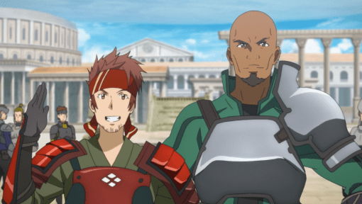 Sword Art Online Klein and Agil