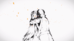 Sword Art Online Kirito and Asuna erased