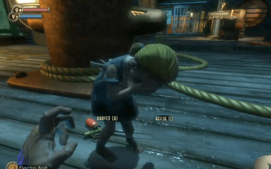 Bioshock Little Sister crying