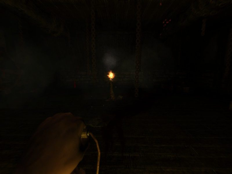 Amnesia: The Dark Descent torch jumpscare