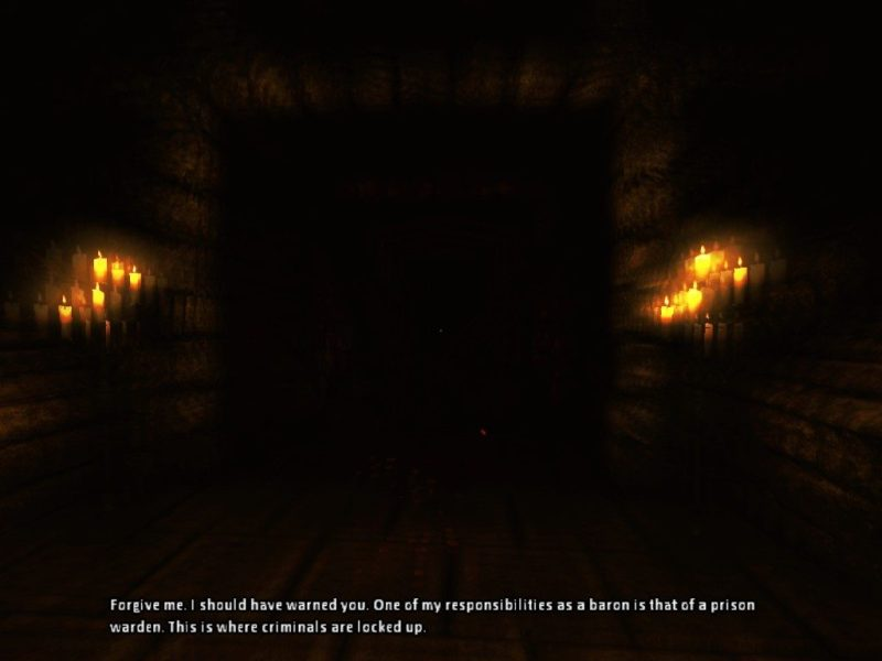 Amnesia: The Dark Descent prison